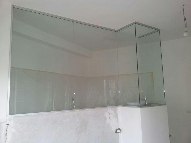 Scagliola Glass | Vetreria | Torino | divisorio bagno