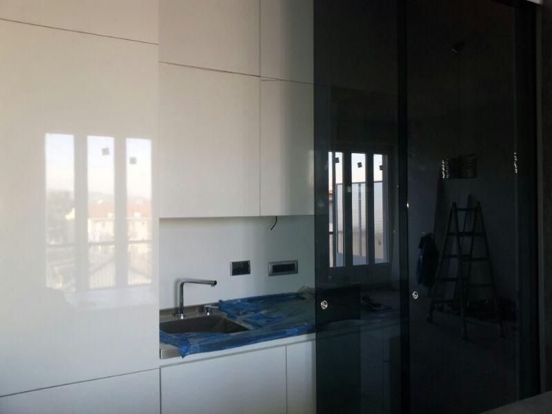 Scagliola Glass   Vetreria   Torino   Porte scorrevoli